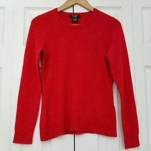 Lord & Taylor 100% Cashmere Crew Neck Sweater S